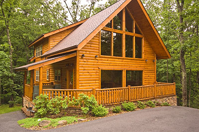 Cozy bear ridge gatlinburg cabin rental at cobbly nob for Bear ridge cabin rentals